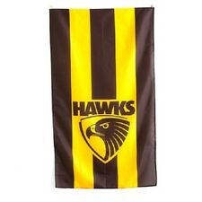 Official AFL Hawthorn Hawks Supporters Wall Cape Banner Flag