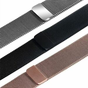 Armband Apple Watch Milanaise Edelstahl Serie 1 2 3 4 5 6 SE / 38/40 42/44mm DE