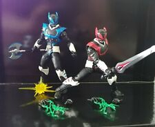 Hasbro Power Rangers Lightning Collection Psycho Red And Blue Loose