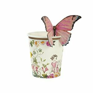 Tea Party Paper Butterfly, Fairy Cups PK12, Pack of 12, Height