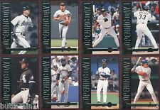 1995 Leaf OPENING DAY Complete 8 Card REDEMPTION Set GRIFFEY THOMAS RIPKEN