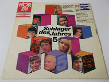 40125 - SCHLAGER DES JAHRES 5 - HÖRZU VINYL LP (GITTE CLIFF MANUELA FRANCE GALL)