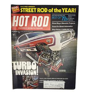 Hot Rod Magazine Original Vintage October 1971 Street Rod Best of 1972