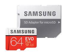 Samsung EVO Plus 64 GB Class 1 microSDXC UHS-I Memory Card - (MB-MC64GA/APC)
