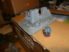 WH40k Scenery pieces, plastic & foam used 28mm scale