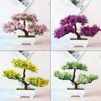 Artificial Fake Plants Bonsai Tree Pot Plants Flowers Home Hotel Garden Decor