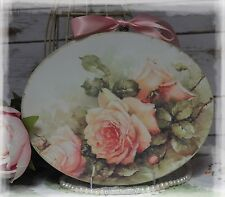 """""""VINTAGE ROSES"""" ~ Shabby Chic Vintage ~ Country Cottage style ~ Wall Decor Sign"""