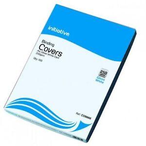 CO9666 Initiative Cardboard Binding Covers A4 250g White