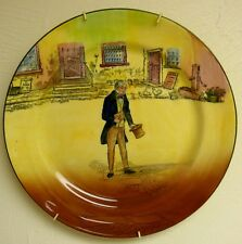 "Rare Royal Doulton Dickens Series Ware Wall Plate ""Tom Pinch"" D 5175"