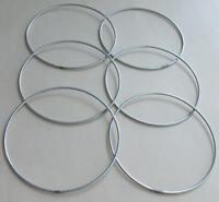 "6  x 5"" Strong Metal Dreamcatcher/Macrame Craft Hoop/Ring & Free Cotton Cord"
