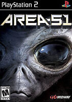 Area 51 (Sony PlayStation 2, 2005) MATURE FAST SHIPPING MIDWAY PS2 ALIEN