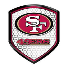 San Francisco 49ers Reflector Auto Decal [NEW] NFL Car Emblem Shield Sticker CDG