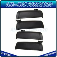 Outside R/L Front & Rear Set/4 Door Handles for 95-99 Tercel 96-98 Paseo Black