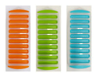 3x Ice Tray Ice Mold Maker Cube Plastic ASS Colours