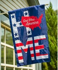 God Bless America Estate Outdoor Flag