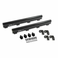 Holley 534 230 Fuel Rails Efi Aluminum Black Anodized Fittings For Chevy Ls7 New Fits Corvette