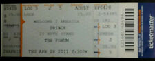 PRINCE L.A. LOS ANGELES THE FORUM MUSIC FULL CONCERT TICKET STUB 21 NITE STAND