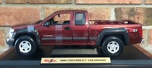 2004 CHEVY COLORADO Z71 4X4 NEW RARE FIND MAISTO 1:18 SPECIAL EDITION