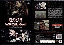 ULTIMO MONDO CANNIBALE - DVD NUOVO E SIGILLATO, PRIMA STAMPA, UNICO E RARO!