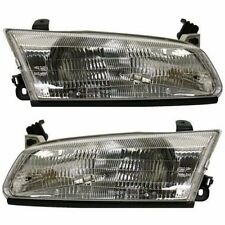 1997 1998 1999 TOYOTA CAMRY HEAD LIGHT LAMP LEFT & RIGHT PAIR 2PCS SET
