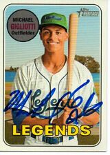Michael Gigliotti Lexington Legends 2018 Topps Heritage Autographed Signed Card