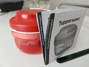 Tupperware Turbo-Chef Zwiebelschneider D158 Rot Neu
