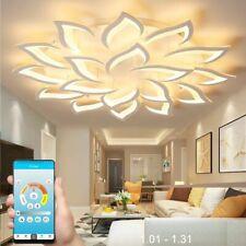 LED Chandelier For Living Room Bedroom Home Modern Shadeless Ceiling Lighting