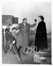INGRID BERGMAN Camera EUROPE 51 Tournage ROSSELLINI Opérateur Photo 1952