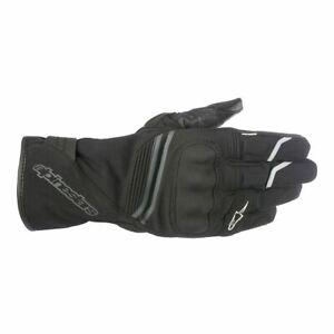 Alpinestars Equinox Outdry Waterproof Motorcycle Motorbike Gloves - Black