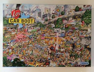 Gibsons 'I Love Car Boot Sales' Puzzle - 1000 Piece Mike Jupp's Jigsaw Puzzles
