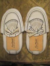 men's faux golf shoe slippers white Pro Model 8 12