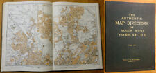 1938: The Authentic Map Directory of South West Yorkshire.