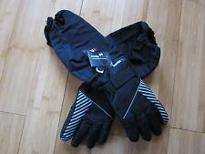 BOY ski gloves L / XL youth long sleeves snow guards stopper Swisstech waterpoof