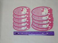 Sanrio HELLO KITTY Pink Gift Tag Set of 10 Unused