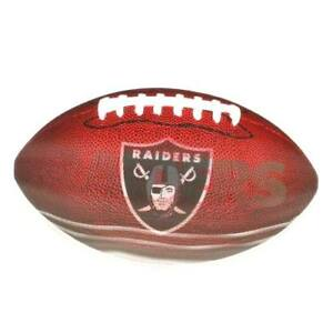 "Oakland Raiders Football Magnet 6.5"" Long  NFL Licensed"