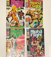 Alpha Flight Special 1-4 1991 Complete Limited Series Marvel Copper Age Avengers