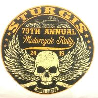 Sturgis T Shirt XXL Winged Skull 2019 79th Annual Rally NEW Ships Free