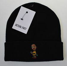 Actual Fact ODB Smoke Beanie Winter Wu Tang Black Wooly Hat