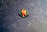 wunderschöner alter Anstecker Abzeichen Dixmude Belgien Wappen Anstecknadel