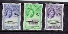TRISTAN DA CUNHA #28-41 fish Mint Never Hinged 1960 whaling