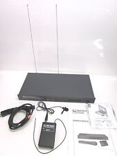 ELECTRO-VOICE EV MS-2000A TRUE DIVERSITY WIRELESS MICROPHONE SYSTEM, w/ BODYPACK