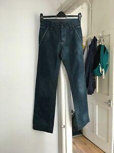 """Re-Hash MOD.RH-003 Size 30"""" Waist Blue Jeans (R1)"""