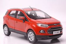 Ford Ecosport car model in scale 1:18 red