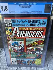 Avengers Annual #10, CGC 9.8 White Pages, 1st App Rogue & Madelyn Pryor