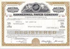 HAMMERMILL PAPER COMPANY..........1977 DEBENTURE
