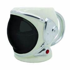 Astronaut Helmet Mug Black Visor Space Themed Novelty Large Coffee Cup Gift Box