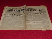 [Prensa WW2 Buses ] Gringoire #382 28 Febrero 1936 Beraud Mauriac J.London