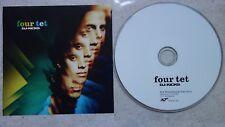 FOUR TET DJ-Kicks PROMO CD Studio !K7203CD Curtis Mayfield Cabaret Voltaire Gong