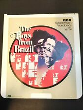 The Boys From Brazil for Vintage RCA Select VideoDisc Video Disc CED