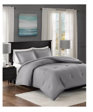 Madison Park Clay 3 Pc. Down Alternative Comforter Set-KING/CALIFORNIA KING-Gray